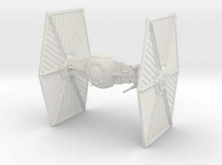 TIE Heavy Starfighter big 3d printed