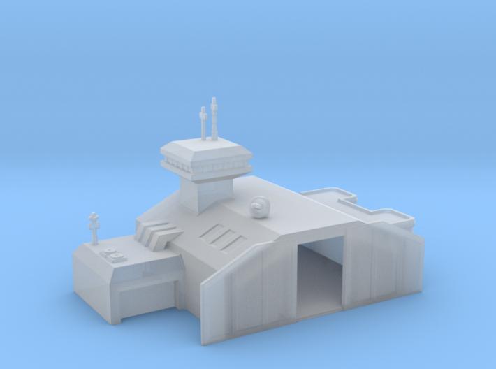Aircraft hangar 3d printed