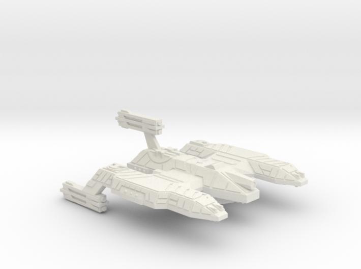 3788 Scale Lyran Refitted Dreadnought Mauler CVN 3d printed