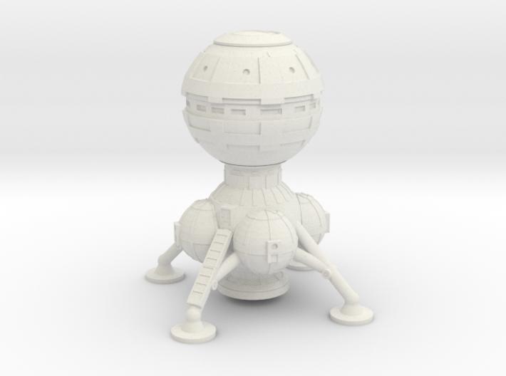 2 Sphere Lander 3d printed