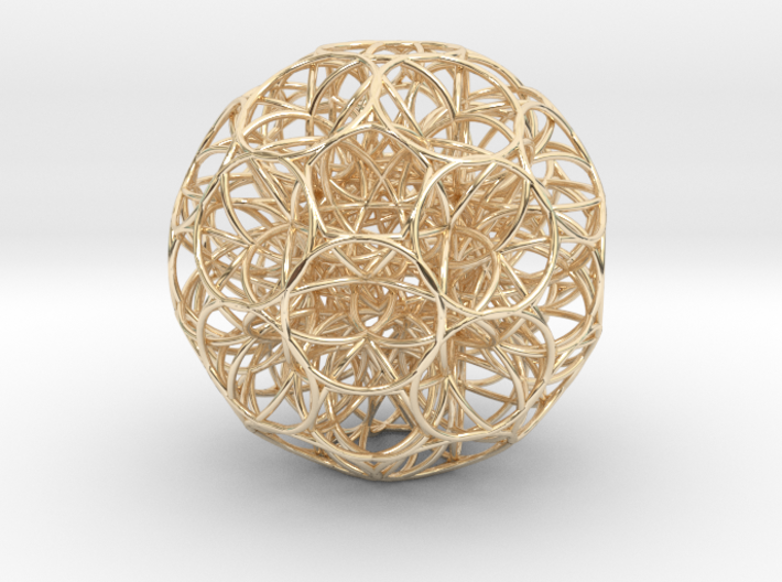 Omega Matter Seed of Life all 3d printed