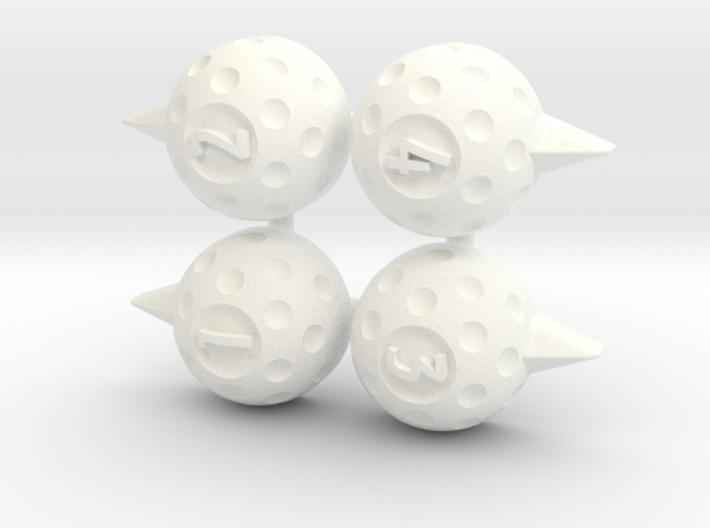 ASG Golf Markers (4 pcs) 3d printed