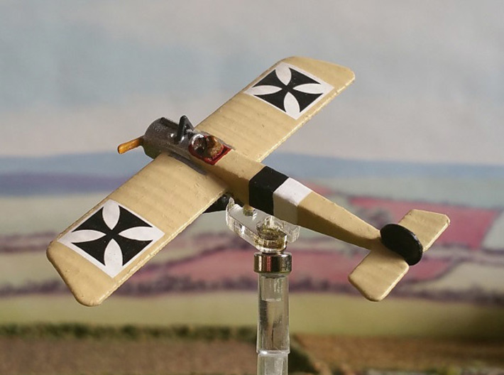 "Fokker E.I 3d printed Photo and paint job by Tim ""Flying Helmut"" at wingsofwar.org"