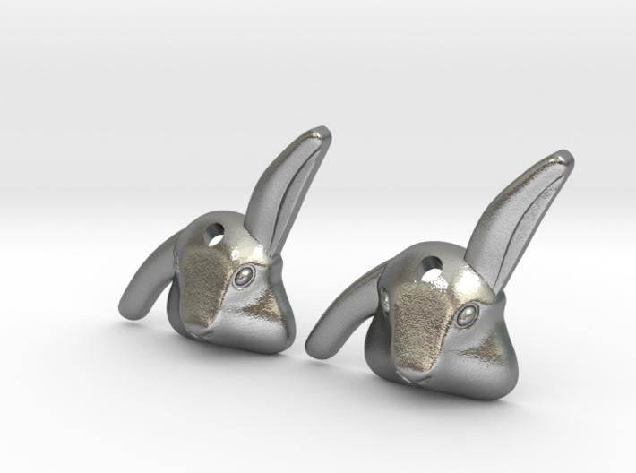 Bibo- rabbit earings 3d printed