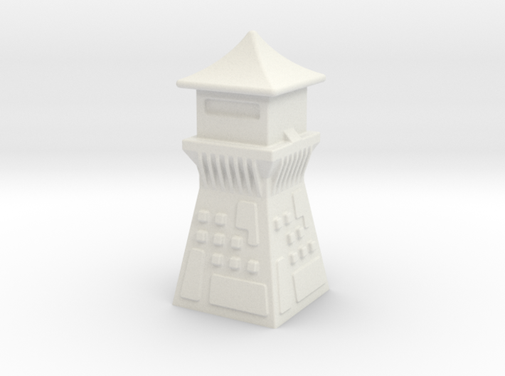 China Style Guard Tower 6mm Game Scale 3d printed