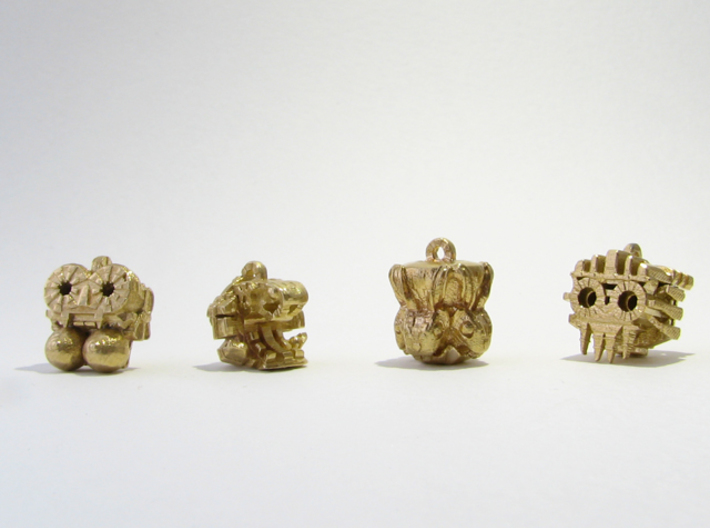 Aztec Bead Chantico SA 3d printed All four Idols