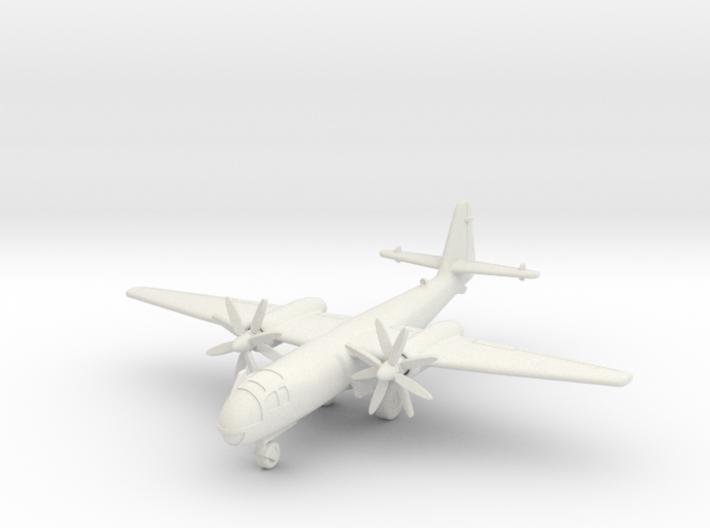 (1:144 what-if) Arado Ar 234 w/ Jumo 022 Turboprop 3d printed