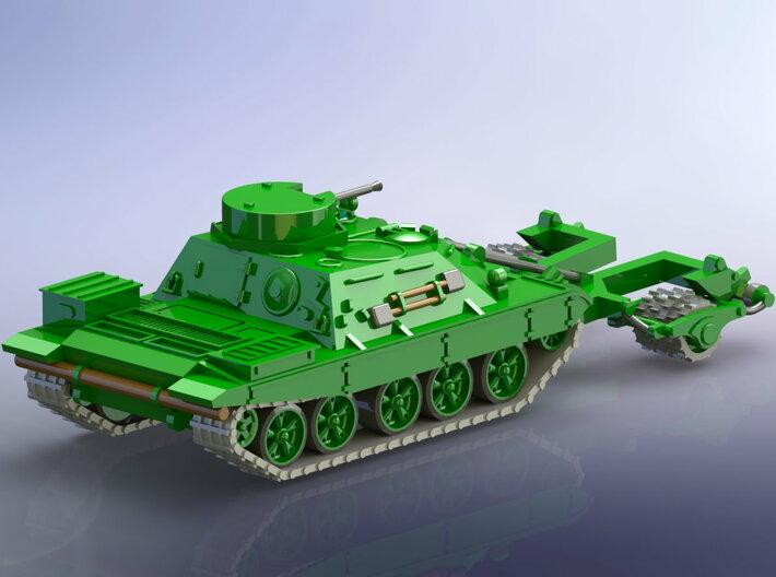 Russian BMR-1 w. KMT-7 1/144 3d printed