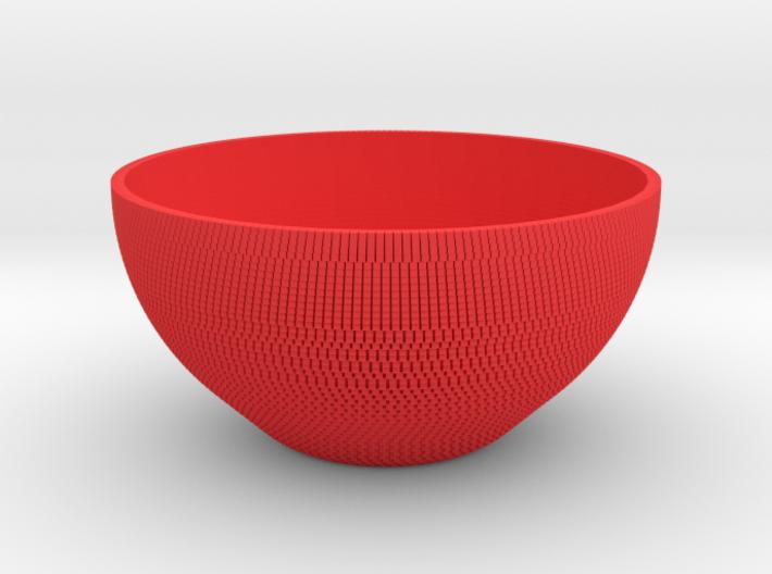 Bowl Pixels 3d printed