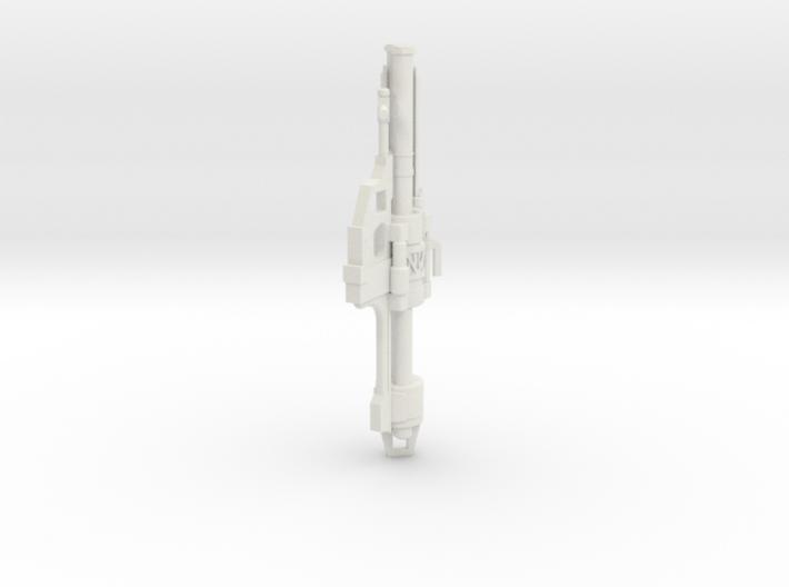 1:6 Miniature Halo Rocket Launcher 3d printed