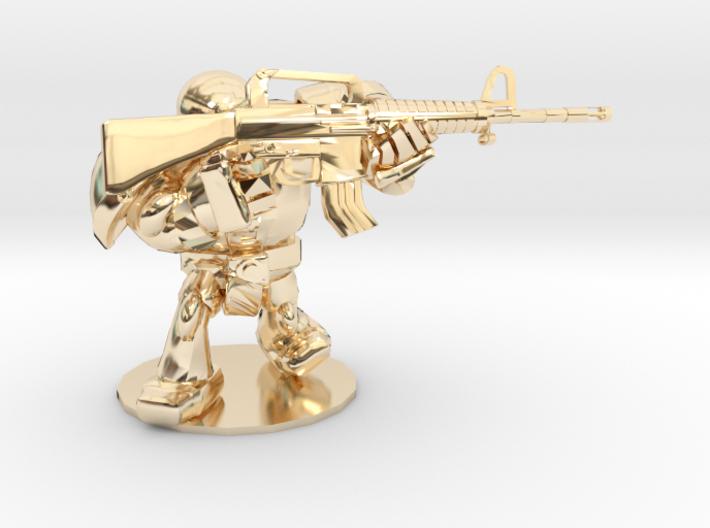 CYBORG1 ASSAULT_RIFLE M16A2 3d printed