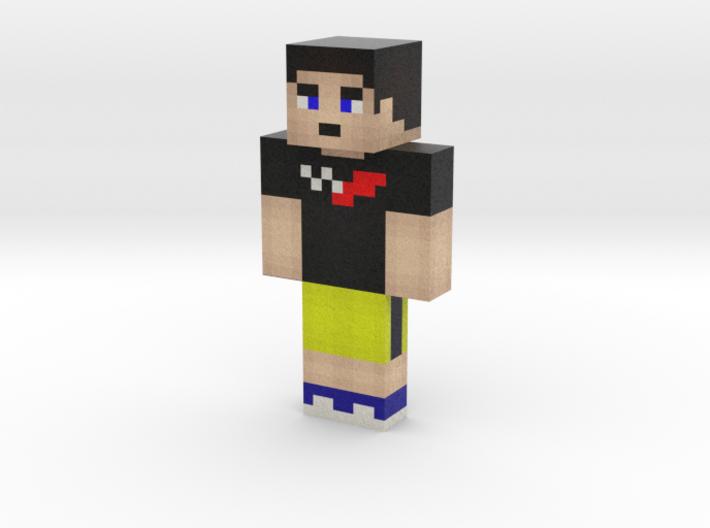 E11iottB | Minecraft toy 3d printed