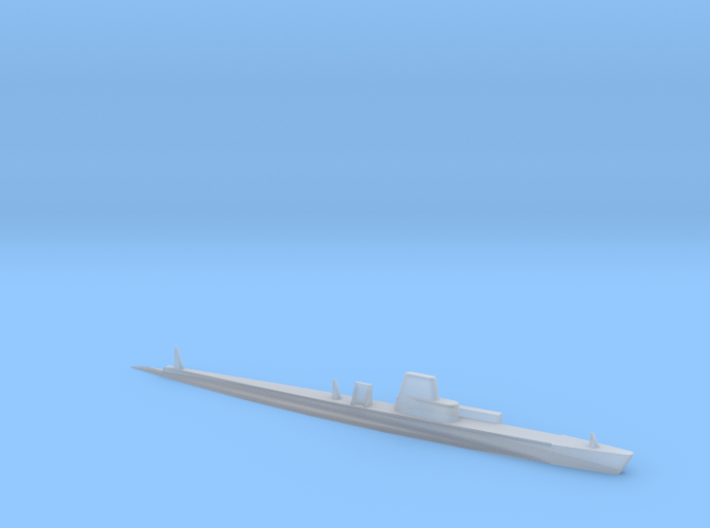 1/2400 Scale SSK-214 Grouper 1968 PUFFS Testbed 3d printed