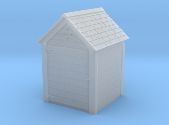 HO Great Northern 4' x 4' Hose House 3d printed