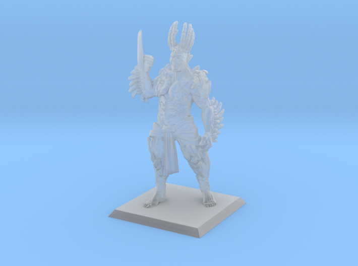 Orc Lord of Bones 3d printed