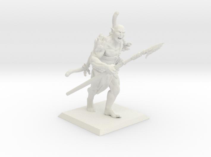 Orc Hunter 3d printed