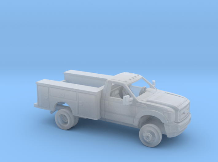 1/87 2011-16 Ford F Series RegCab Utility Bed Kit 3d printed