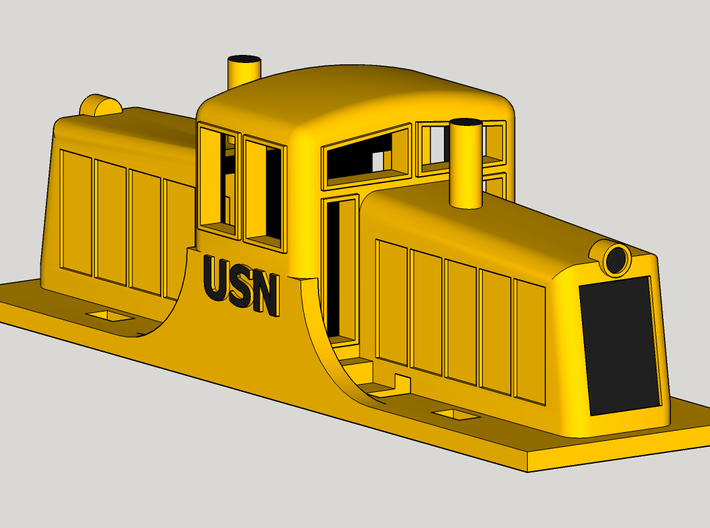 GE 44 Ton Switcher 3d printed