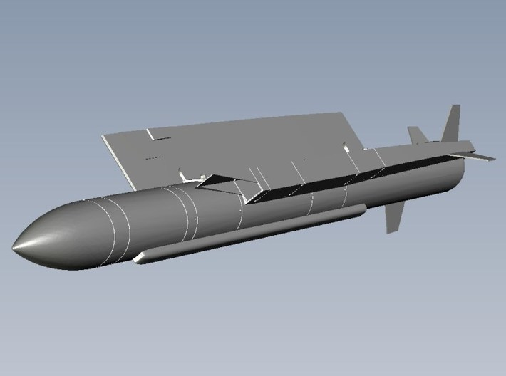 1/72 scale MBDA Aerospatiale ASMP-A missile x 1 3d printed