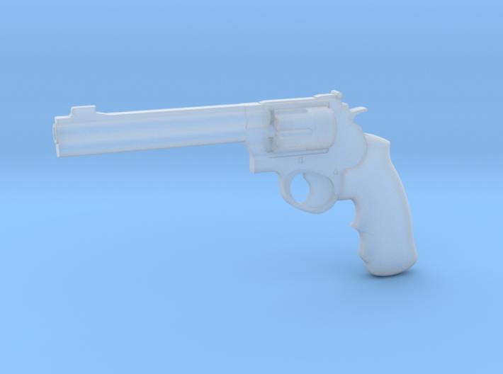 1:3 Miniature .44 Remington Magnum Handgun 3d printed