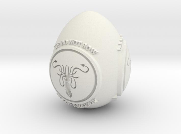 GOT House Greyjoy Easter Egg 3d printed