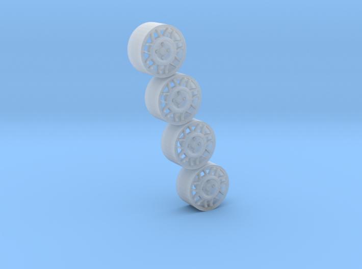 Snowflakes 3d printed