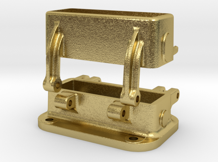 Gehäuse, Winkelspiegel / Housing Periscope 3d printed