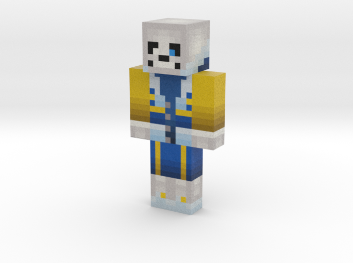 2019_04_11_outertale-sans-12918736 | Minecraft toy 3d printed