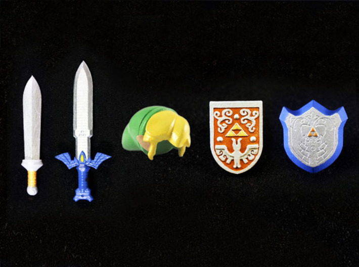 Toon Ultimate Pack 3d printed Painted Smooth Fine Detail Plastic