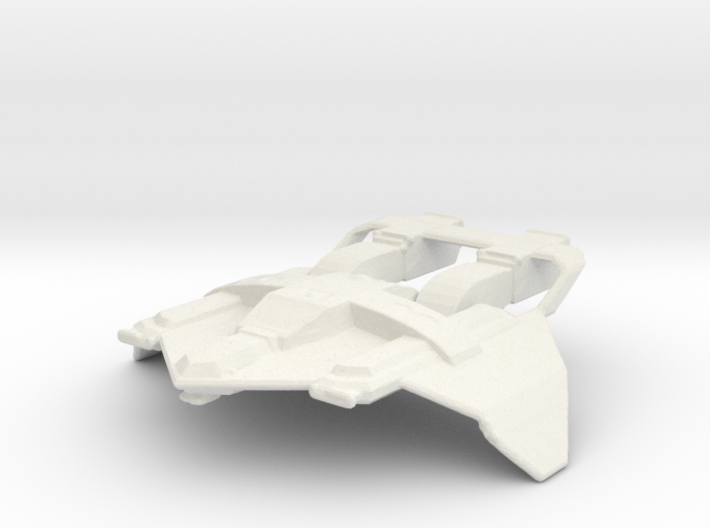 Federation Fighter 3d printed