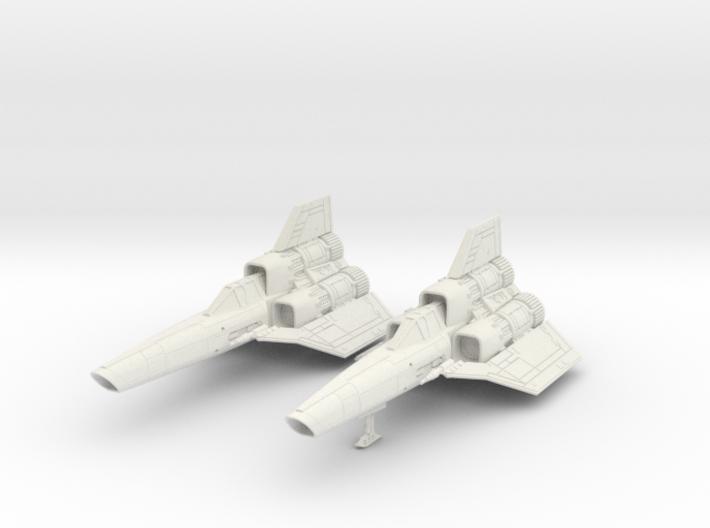 BSG - Colinial Viper MK1 dual seater Landing gear 3d printed