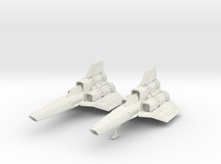 BSG - Colinial Viper MK1 landing gear down 3d printed