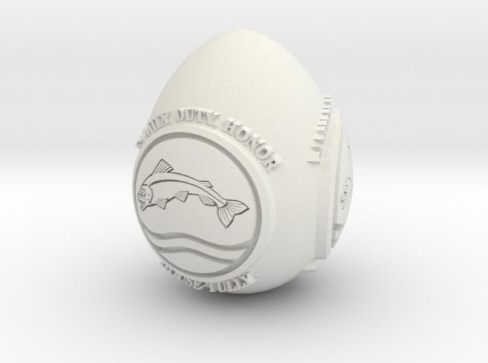 GOT House Tully Easter Egg 3d printed