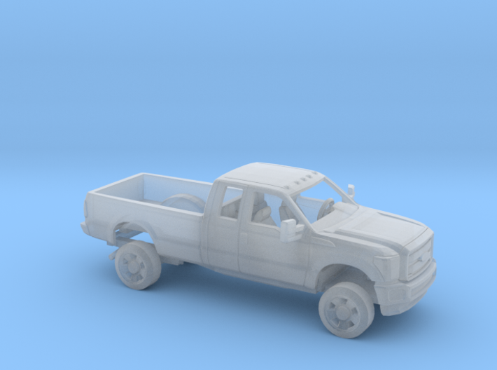 1/87 2011-16 Ford F Series Ext Cab Regular Bed Kit 3d printed