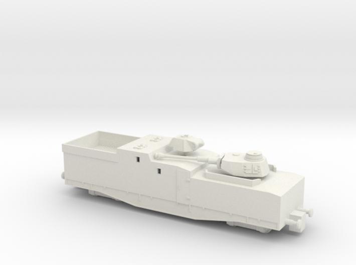 1/144 Streckensicherungszug Blucher Panzerzug 3d printed