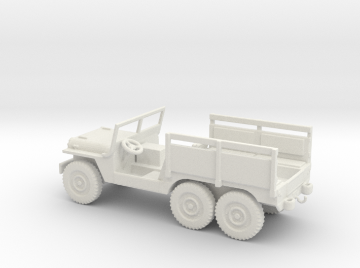 1/72 Scale 6x6 Jeep MT Ambulance