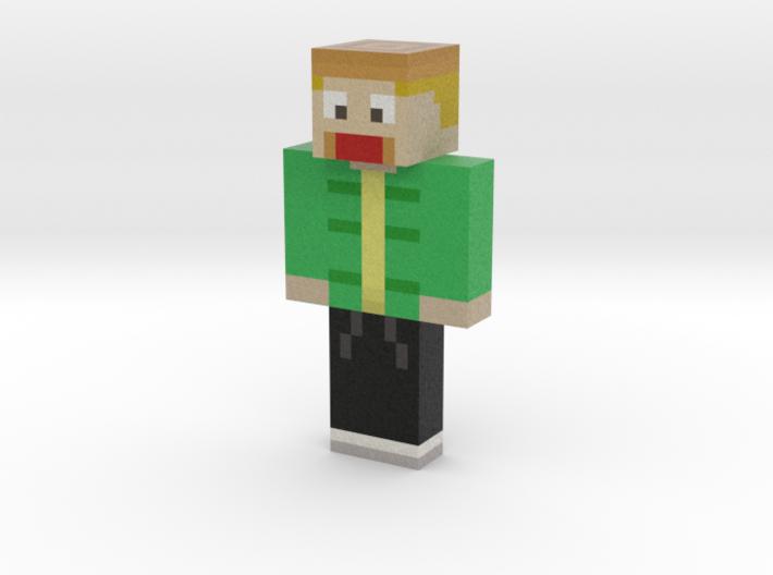 steckdosenhebel   Minecraft toy 3d printed