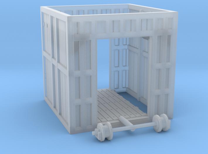 Glacier Gatehouse 3d printed