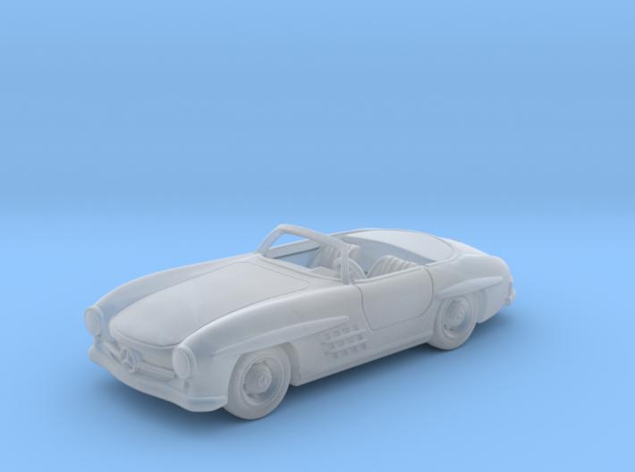 Mercedes 300 SL Convertible 1:87 HO 3d printed