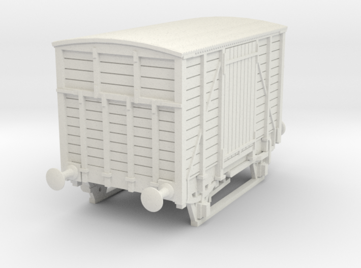 a-76-dwwr-ashbury-13-6-covered-wagon 3d printed