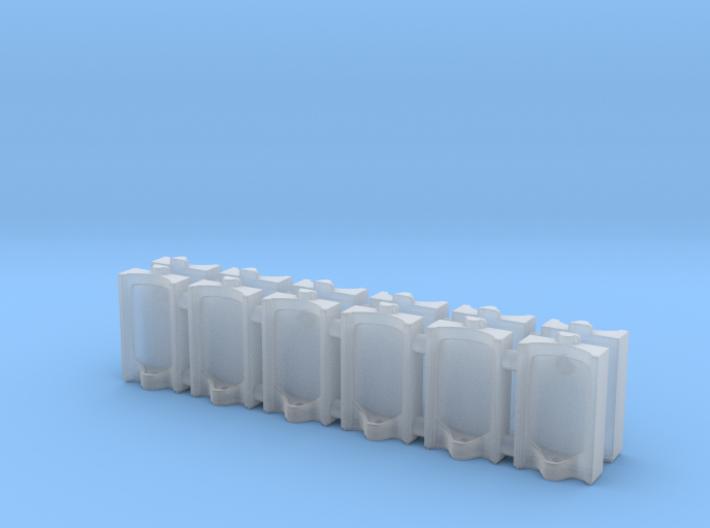 Urinal 02.N Scale (1:150) 3d printed