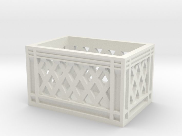 1:10 scale food crate 3d printed