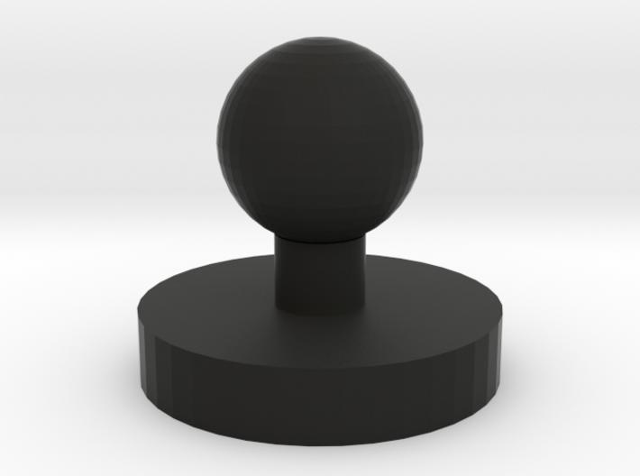 Oxyarm headset mounting base 3d printed