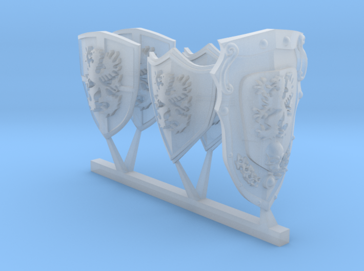 Terminator Howling grifons storm shields 3d printed