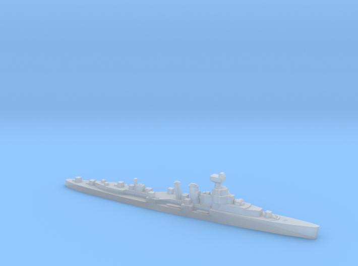 HMS Coventry 1:2400 WW2 naval cruiser 3d printed