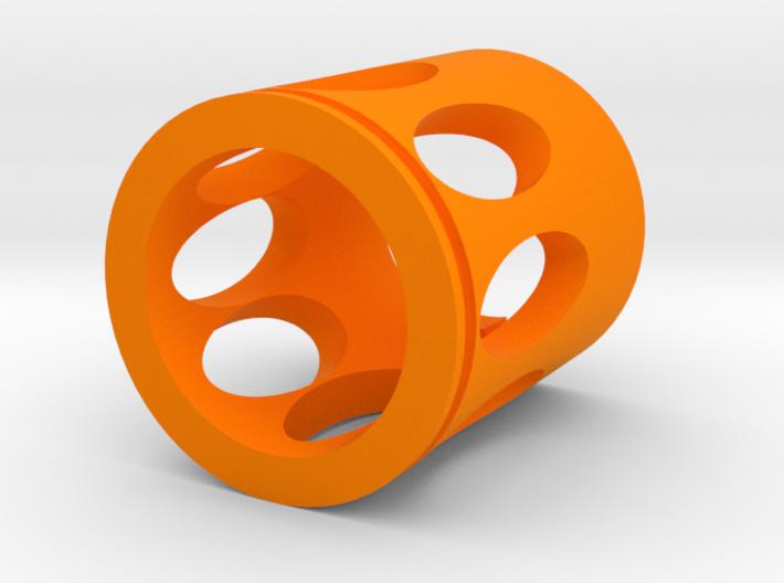 Rex Muzzle Flash Hider for Nerf Modulus 3d printed