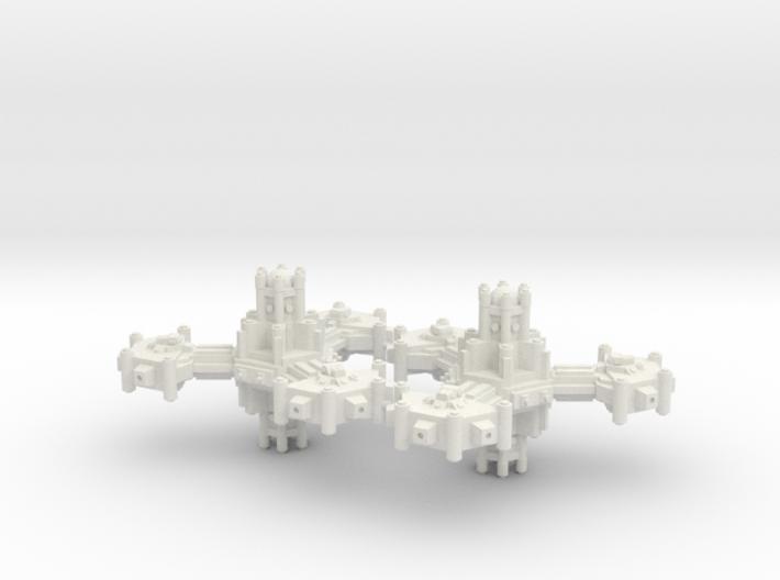 Plataforma defensa planetaria A 3d printed
