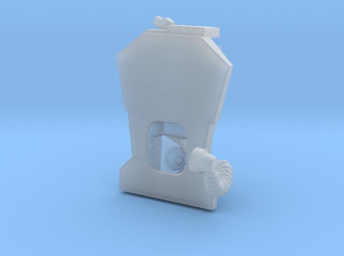 SF Astronaut, BACK-UNIT / Cockpit Moebius EVA Pod 3d printed