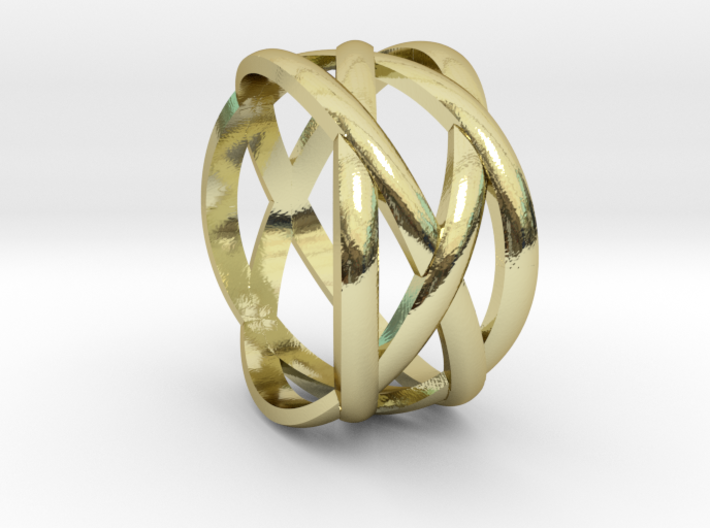 braided fashion ring 3d printed