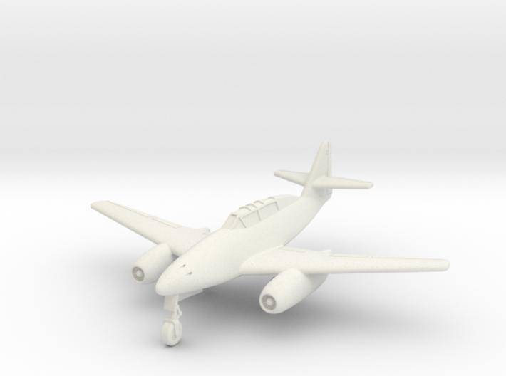 (1:144) Avia CS-92.7 (Czech built Me 262 B-1a) 3d printed